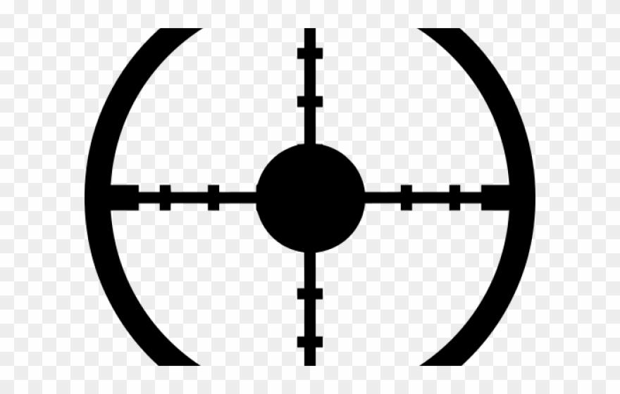 Target cross clipart vector free stock Sniper Clipart Target Sign - Png Download (#2605805 ... vector free stock