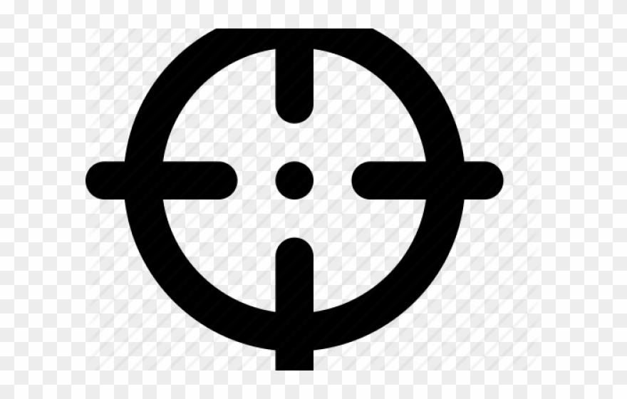 Target cross clipart banner library Sniper Clipart Bullseye - Target Vector Logo - Png Download ... banner library