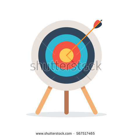 Target on body shot arrow clipart picture royalty free library Accuracy Stock Images, Royalty-Free Images & Vectors | Shutterstock picture royalty free library