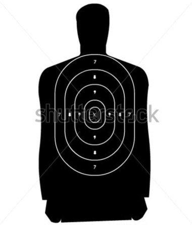 Target on body shot arrow clipart banner black and white library Target on body shot arrow clipart - ClipartFest banner black and white library