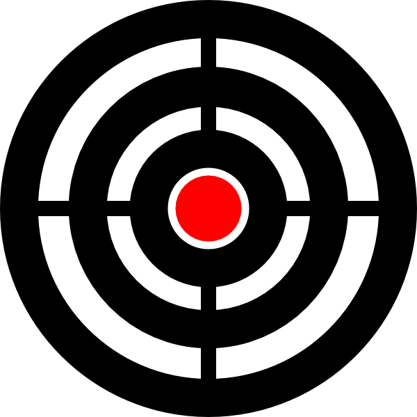 Target with arrow clipart vector Urwald Zielscheibe Target Aim Clip Art at Clker.com - vector clip ... vector