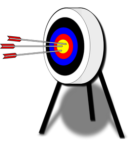 Target with arrow clipart png transparent stock 84 target clip art bullseye | Public domain vectors png transparent stock
