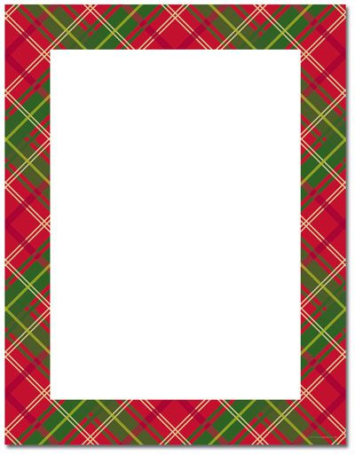 Christmas clipart templates free graphic free Free Holly Border Template | Christmas Stationery Printer ... graphic free