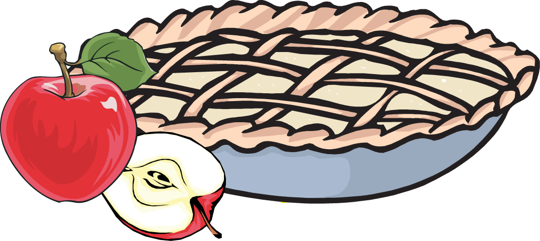 Whole stick of butter in a pie clipart