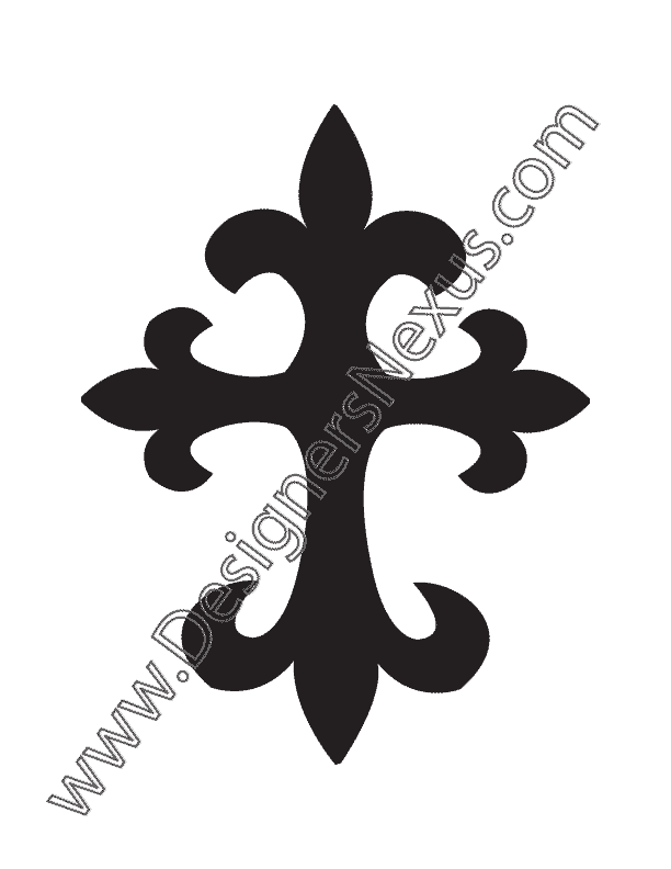 Tattered cross clipart svg transparent download Cross Silhouette Tattoo at GetDrawings.com | Free for personal use ... svg transparent download