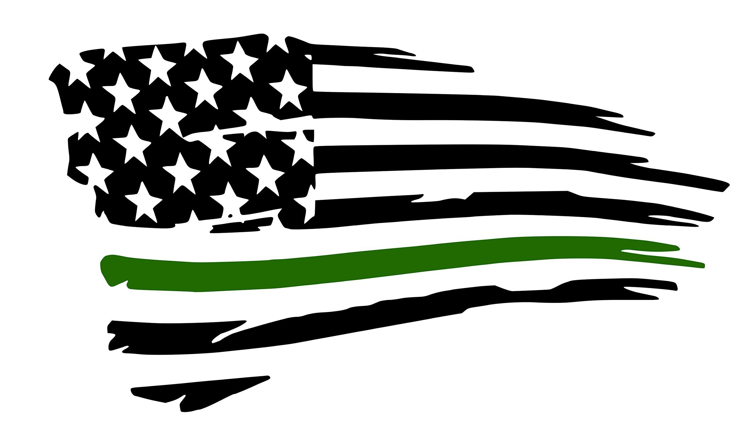 Tattered sign on a wood stick clipart clip art transparent download Army Tattered Flag Decal- Military Pride. Show your love and ... clip art transparent download