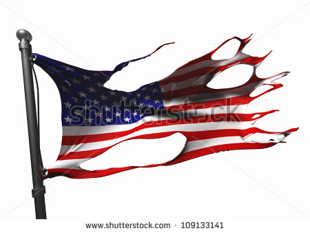 Tattered us flag clipart jpg free download Torn Flag Stock Images, Royalty-Free Images & Vectors | Shutterstock jpg free download