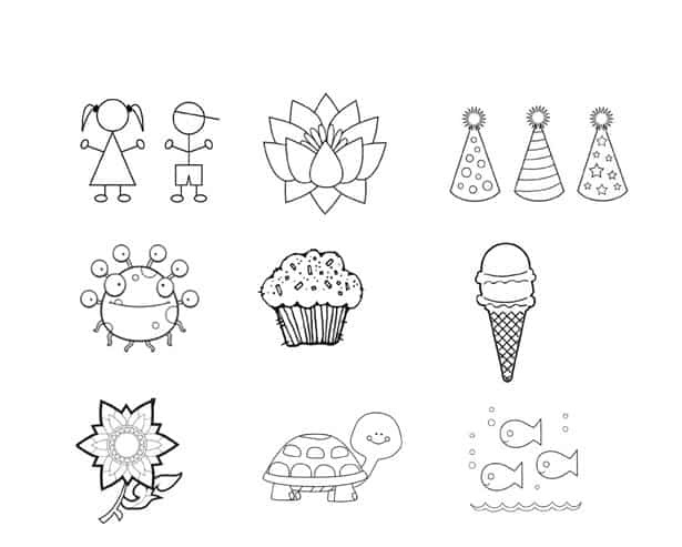 Tattoo clipart children svg transparent library MAKE TEMPORARY TATTOOS OUT OF KIDS\' ART svg transparent library