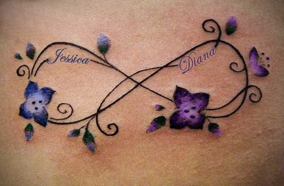 Tattoo clipart children image royalty free library My version of a mother/daughter infinity tat. | Tattoos ... image royalty free library