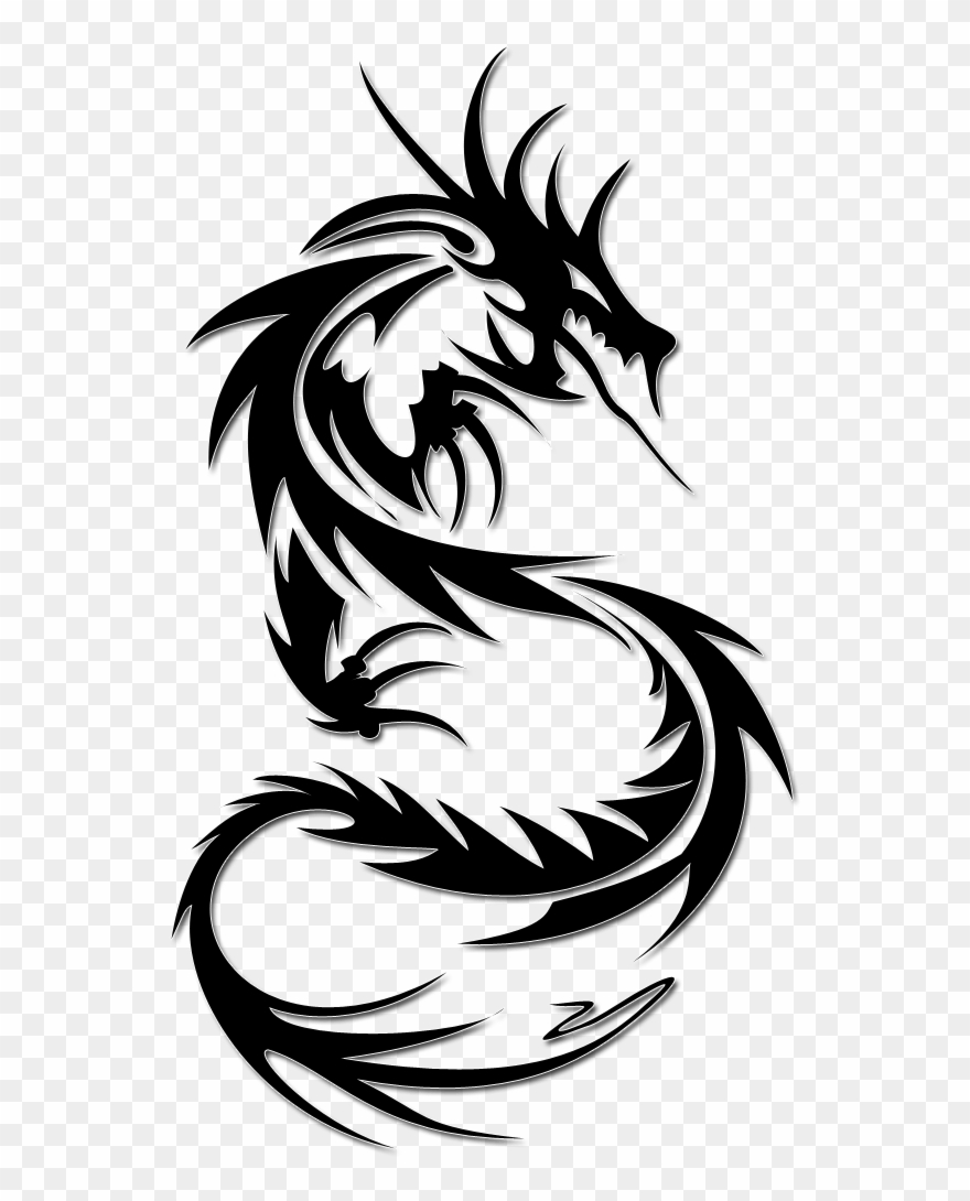 Tattoo clipart for picsart clip royalty free download Dragon Tattoos Png Transparent Images - Dragon Tattoo On ... clip royalty free download