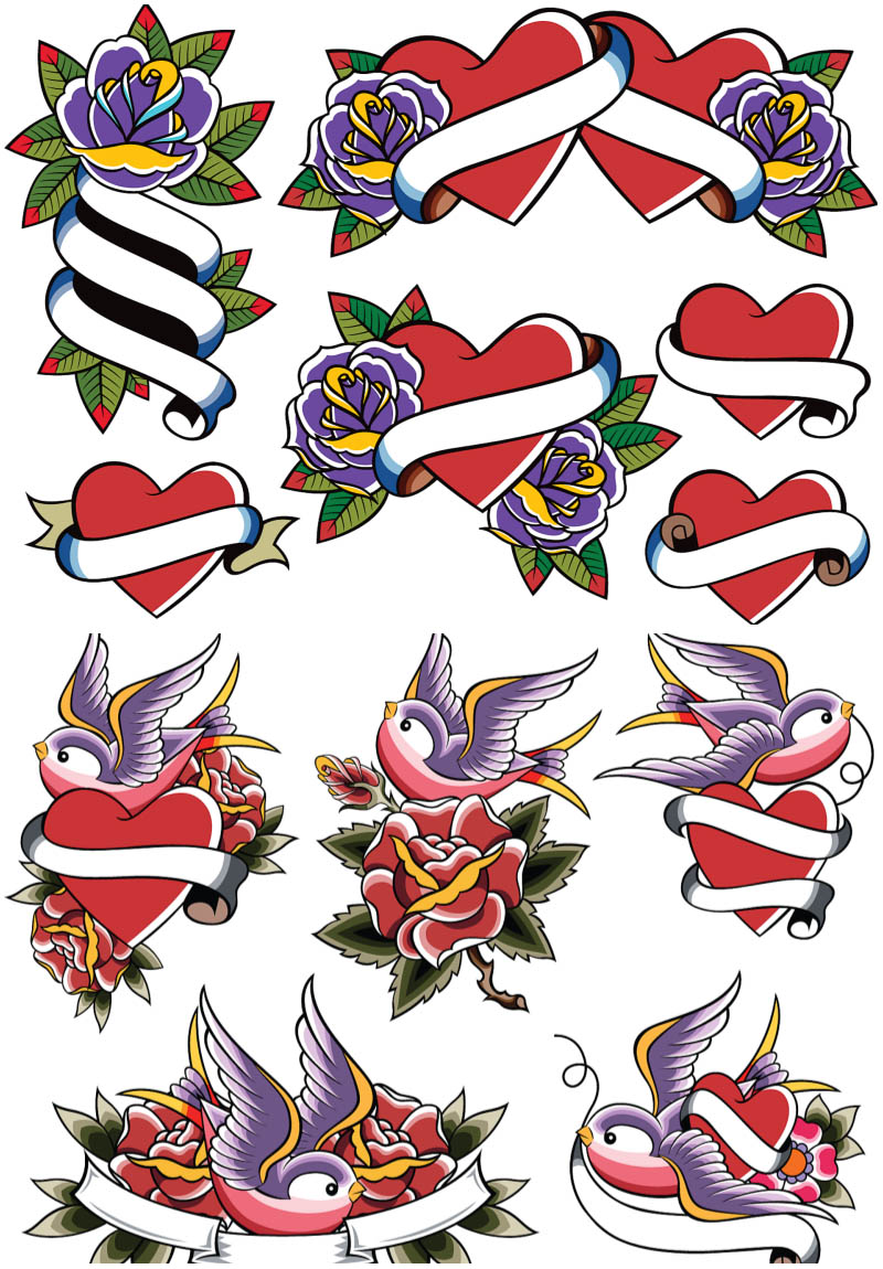 Tattoo clipart name in heart