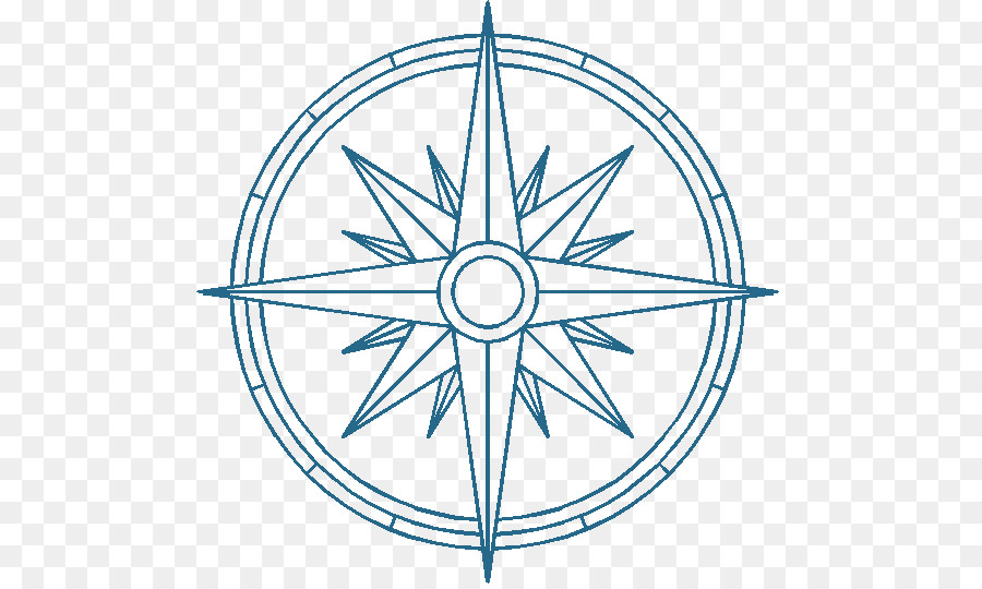 Tattoo compass clipart jpg library stock Compass Rose Drawing clipart - Tattoo, Compass, Drawing ... jpg library stock