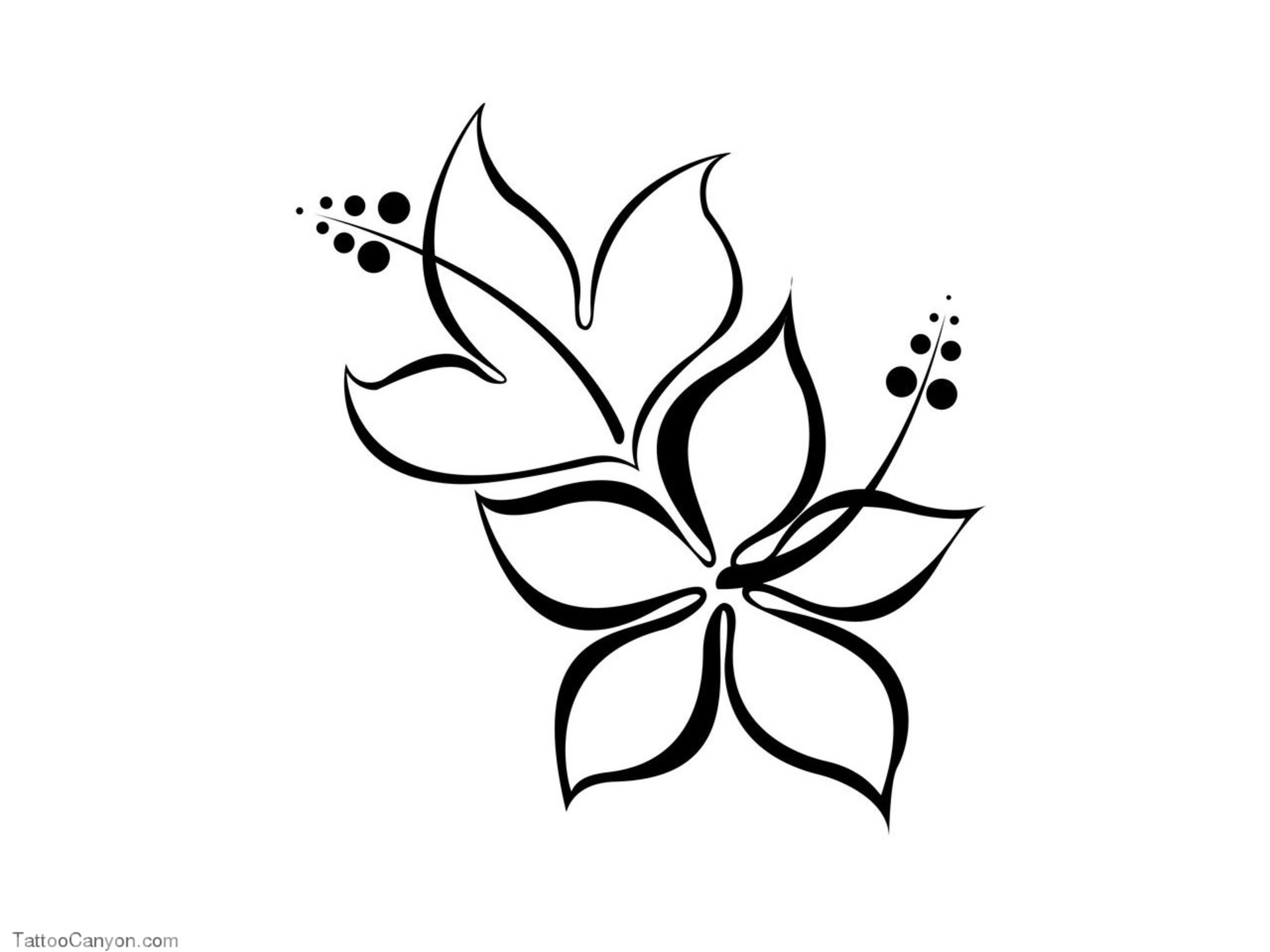 Tattoo flower clipart hd wallpaper png royalty free Free Designs Hibiscus Flower Tattoo Wallpaper Picture ... png royalty free