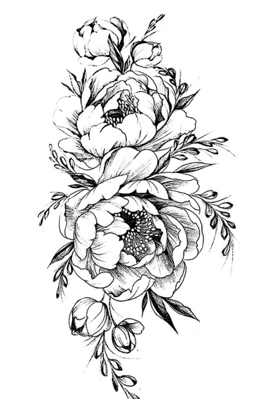 Tattoo flower clipart hd wallpaper banner black and white download Flower Tattoo Designs | Wallpapers Simple banner black and white download