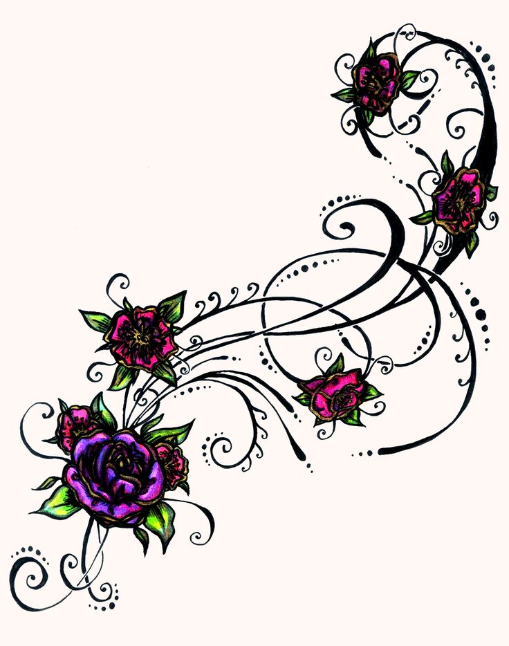 Tattoo flower clipart hd wallpaper clipart black and white stock Pictures Of Flower Tattoo Designs | Free download best ... clipart black and white stock