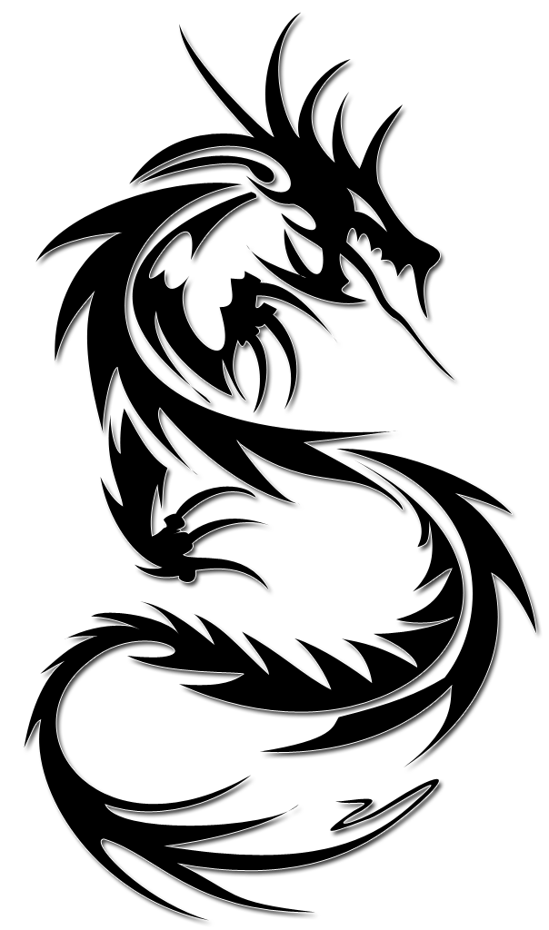 Water and sun clipart tattoos svg freeuse download Tribal Dragon Tattoo Design Ideas | Pinterest | Dragon tattoo ... svg freeuse download