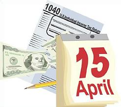 Tax april 15 day clipart clipart library library Tax day clipart - ClipartFest clipart library library