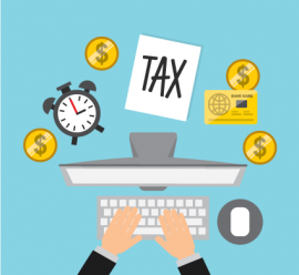 Tax day 2017 clipart graphic freeuse library Tax Day Deadline 2018 (for Tax Year 2017) | Cardinal at Work graphic freeuse library
