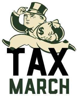Tax day 2017 clipart png library download Tax March - Wikipedia png library download