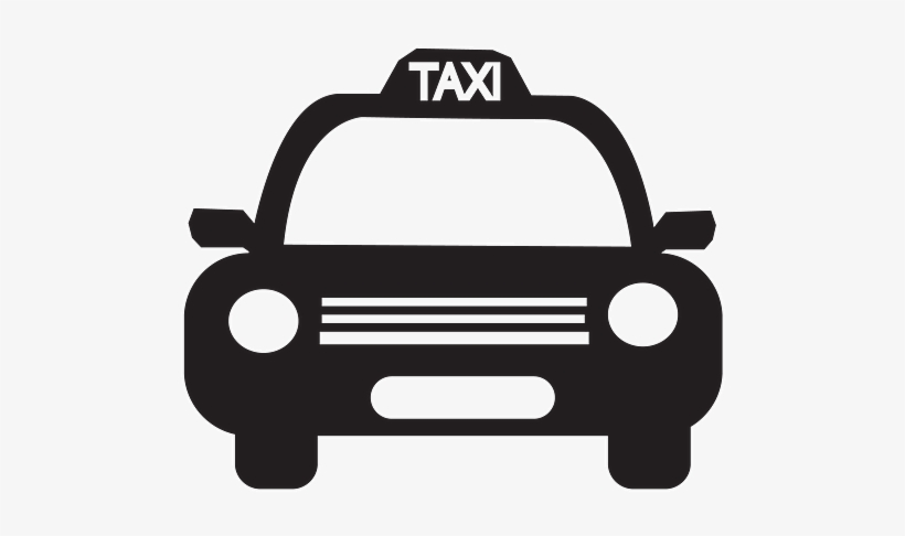 Taxi black and white clipart svg download Taxi Clipart Transparent - Taxi Black And White Clip Art ... svg download