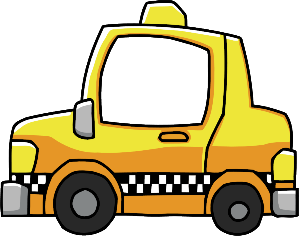 Taxi car clipart vector freeuse Cab | Scribblenauts Wiki | FANDOM powered by Wikia vector freeuse