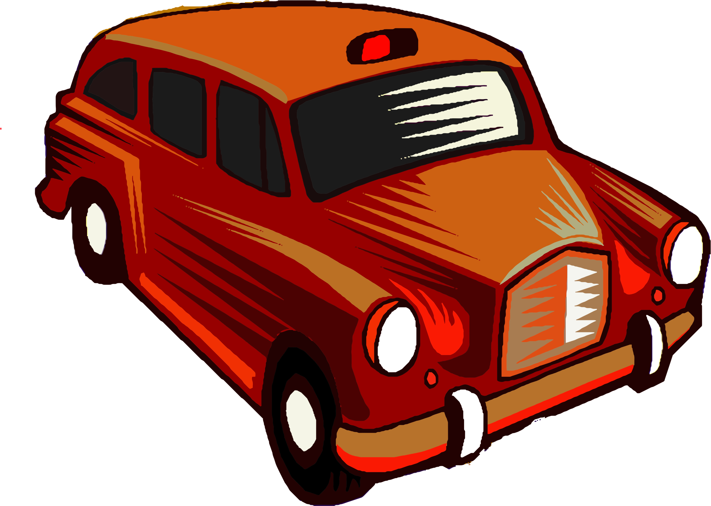 Taxi car clipart image royalty free Clipart - Red Taxi Cab image royalty free