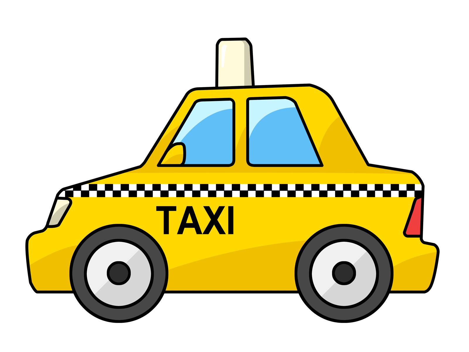 Cute car clipart. Free to use public