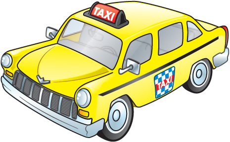 Taxi pictures clip art