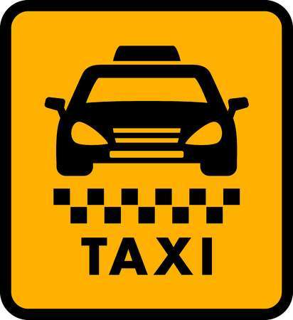 Taxi sign clipart jpg black and white download Taxi sign clipart 6 » Clipart Portal jpg black and white download