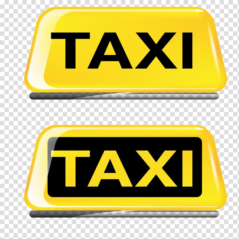 Taxi sign clipart svg black and white library Eko Taxi , yellow taxi dome light transparent background PNG ... svg black and white library