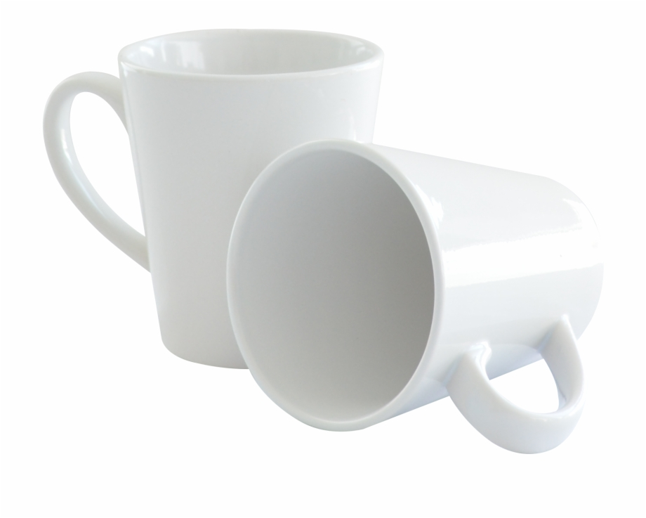 Taza blanca clipart png library Taza Blanca Cónica De 12 Oz - Coffee Cup Free PNG Images ... png library