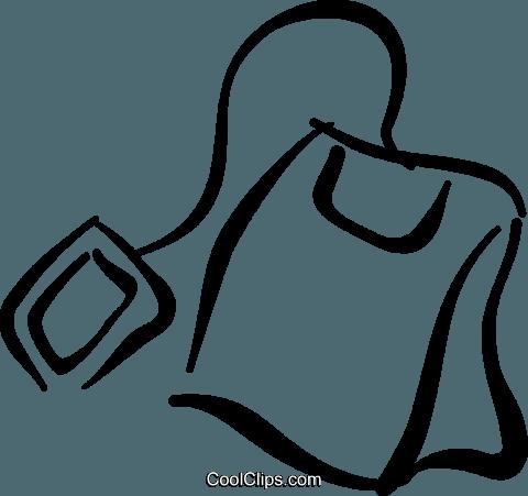 Tea bag free vector clipart