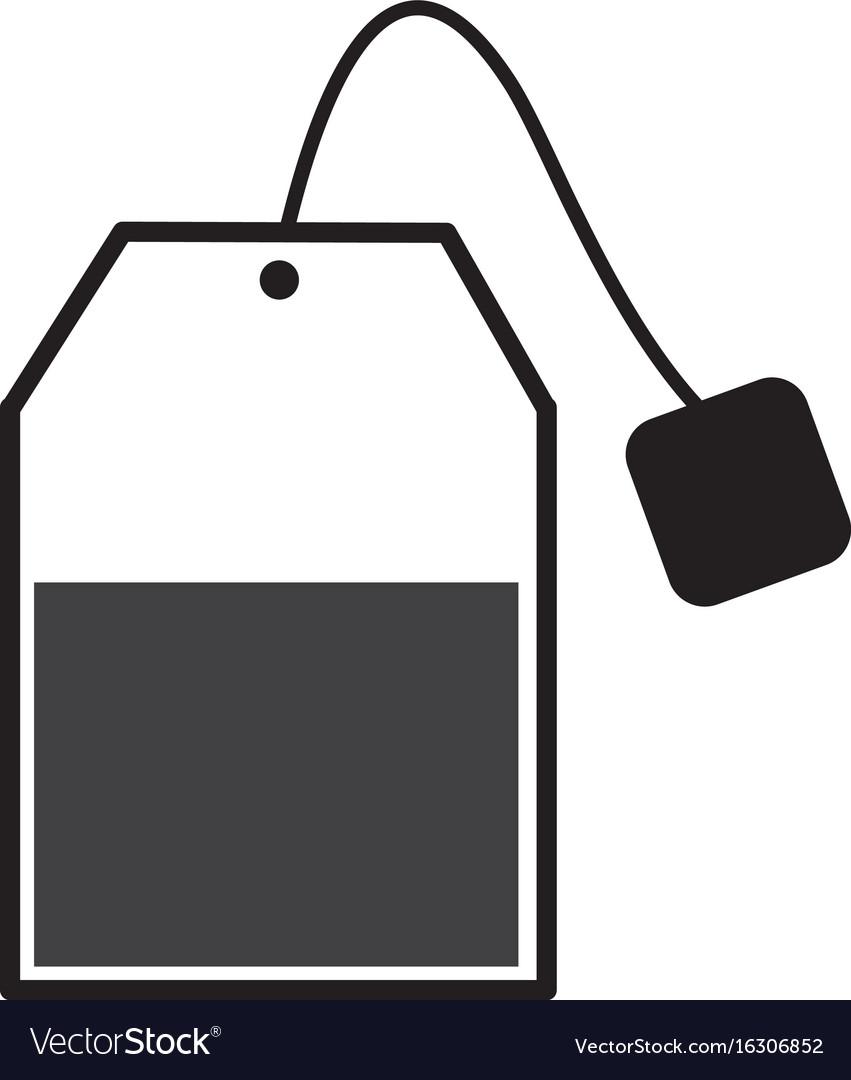 Tea bag free vector clipart jpg free library Tea bag sign tea bag icon on white background jpg free library