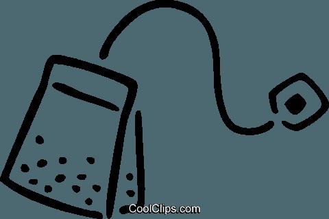 Tea bag free vector clipart clipart transparent teabag Royalty Free Vector Clip Art illustration -vc035265 ... clipart transparent