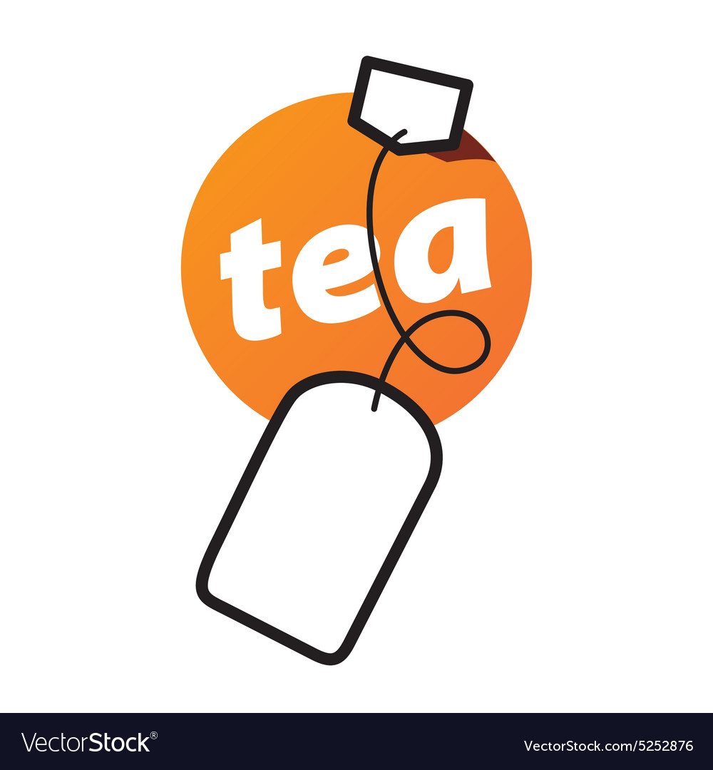 Tea bag free vector clipart picture stock Logo round tea bag picture stock