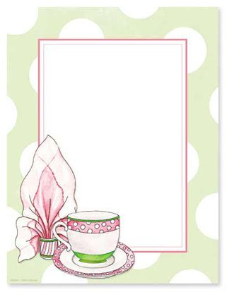 Tea border clipart clipart black and white Tea Cup Clipart line art tea 6 - 321 X 414 Free Clip Art ... clipart black and white