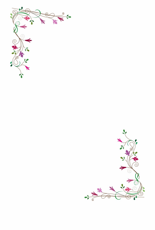 Tea border clipart graphic black and white download Vintage Flower Frame Vector Png - Mother\'s Day Afternoon Tea ... graphic black and white download