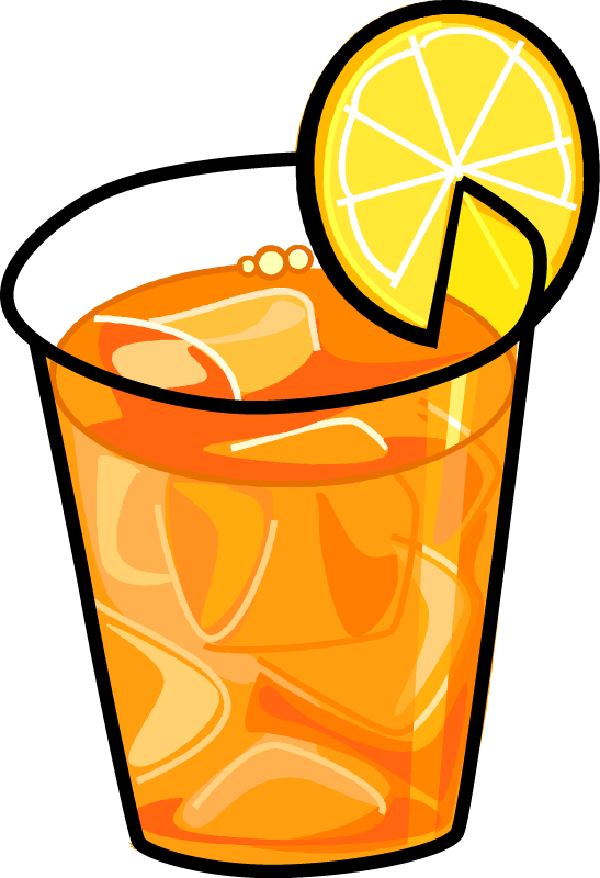 Sun brewed tea clipart