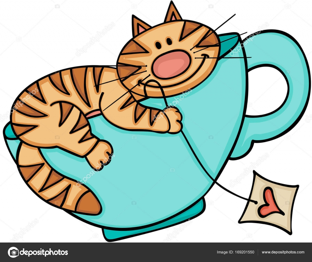 Tea cup cat clipart svg library download Happy Cat Clipart | Free download best Happy Cat Clipart on ... svg library download