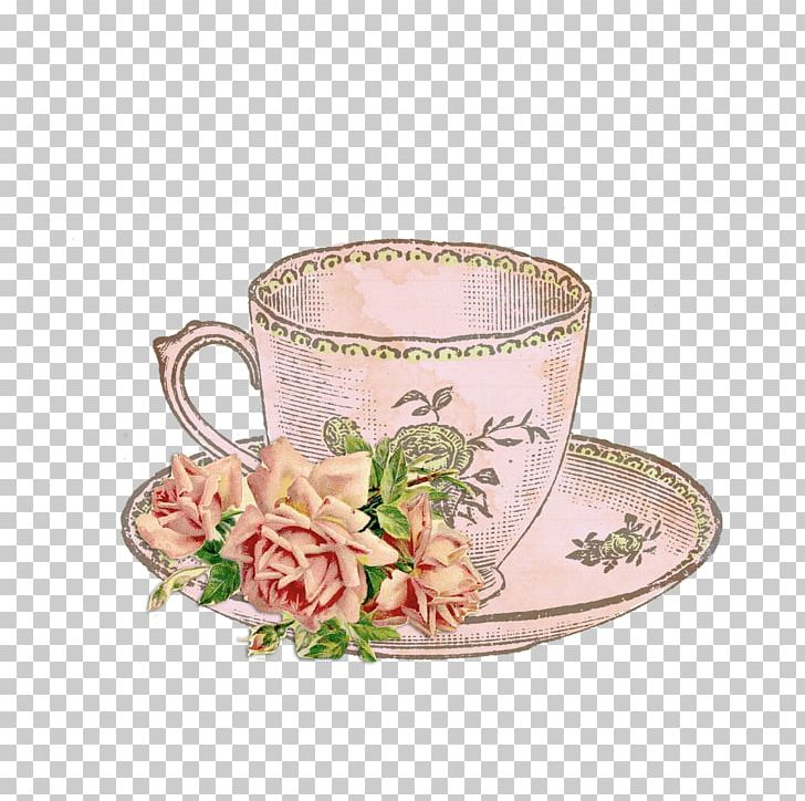 Tea cup with flowers clipart jpg library Tea Party Teacup Teapot PNG, Clipart, Beer Mug, Camellia ... jpg library