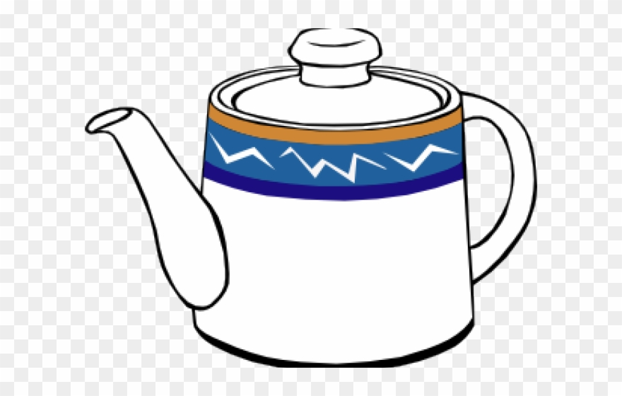 Tea kettle with steam clipart clip art freeuse Steam Clipart Teapot - Clipart Of Kettle - Png Download ... clip art freeuse