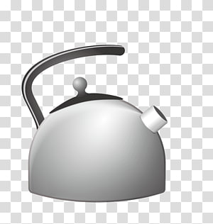 Tea kettle with steam clipart clipart black and white Watering Cans Kitchen garden Gardener Teapot, others ... clipart black and white