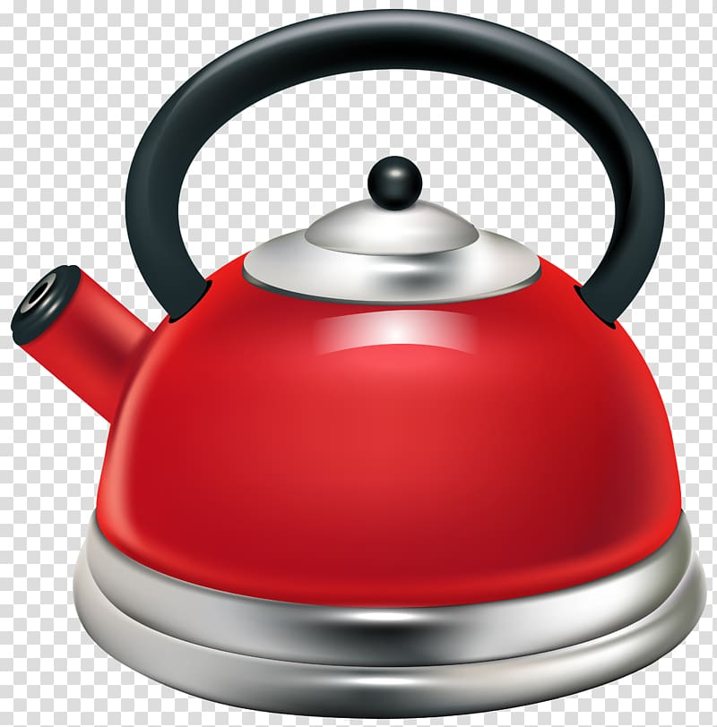 Tea kettle with steam clipart graphic free download Tea Kettle Handle Whistle Stainless steel, Red Kettle ... graphic free download