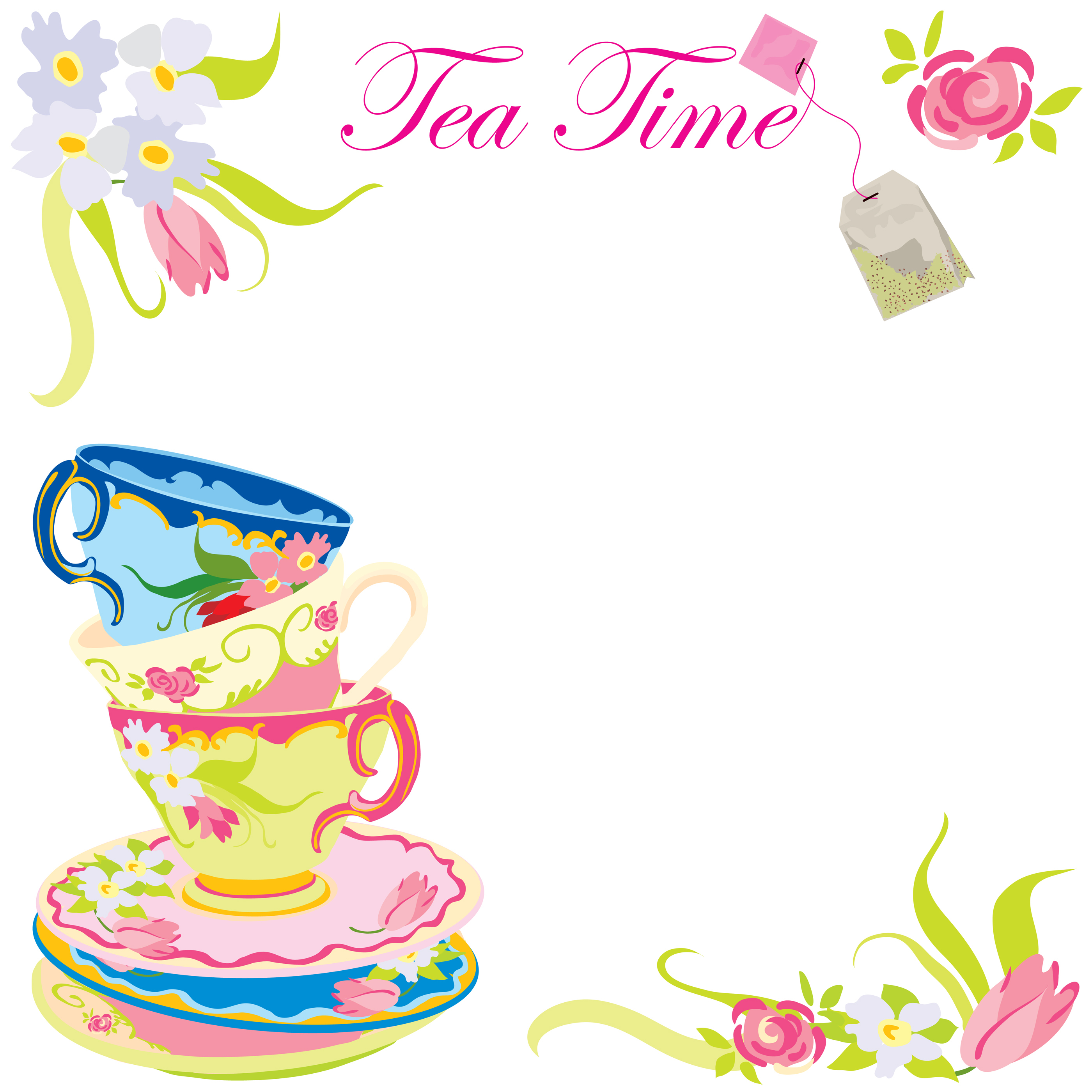 Tea party pictures clipart vector download Free Tea Party Cliparts, Download Free Clip Art, Free Clip ... vector download