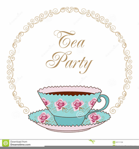 Tea party pictures clipart banner royalty free stock Free Victorian Tea Party Clipart | Free Images at Clker.com ... banner royalty free stock