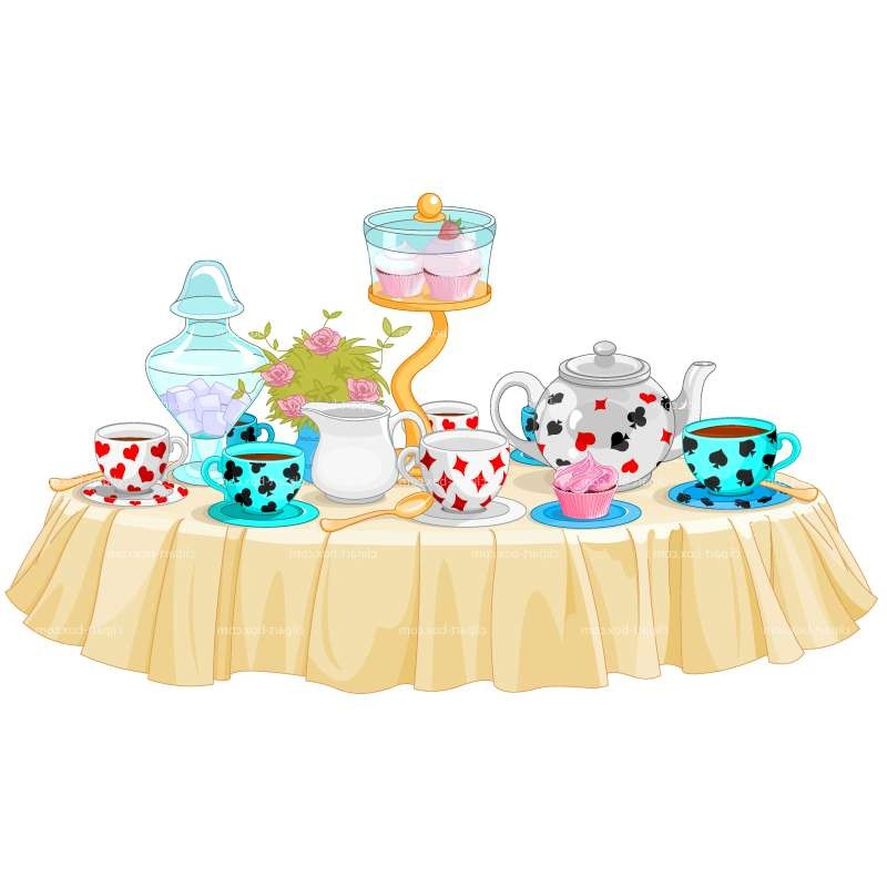 Tea party clipart freeuse library Ryde Town Council, Isle of Wight clipart-alice-tea-party ... freeuse library