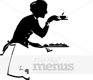 Food service clipart graphic library Tea Service Clip Art | Clipart Panda - Free Clipart Images graphic library