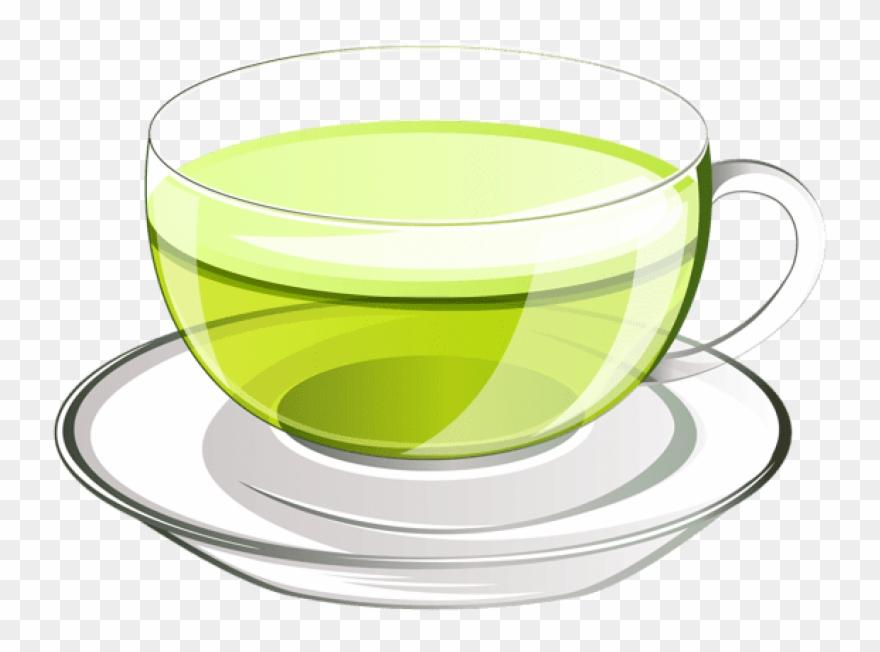 Tea vector clipart image transparent stock Free Png Download Cup Of Green Tea Png Vectorpicture - Green ... image transparent stock
