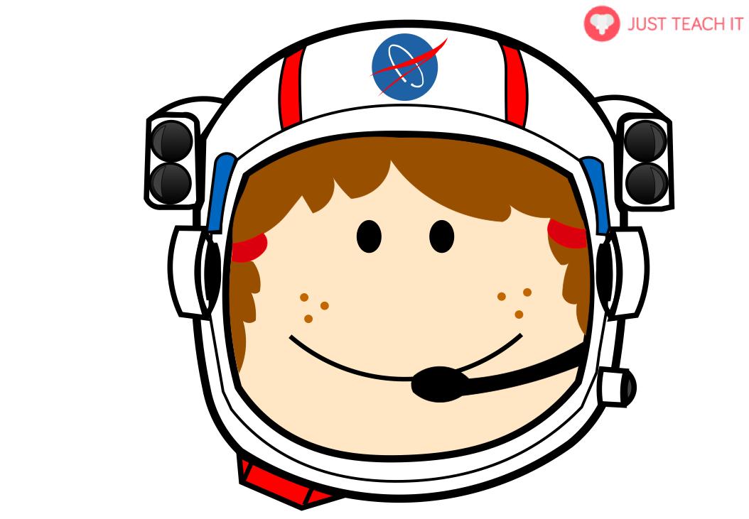 Teach face clipart image Space Astronaut Face Helmets   Just Teach It - Clip Art Library image