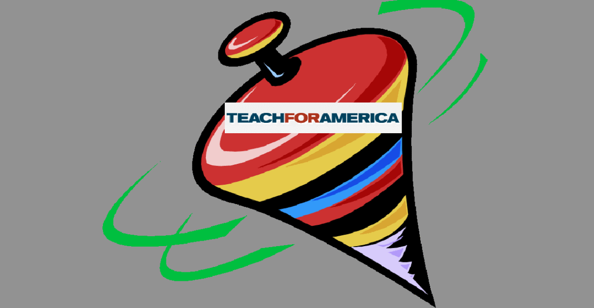 Teach for america logo clipart png freeuse stock Teach For America: Feel Good Spin vs. Dose of Reality From ... png freeuse stock